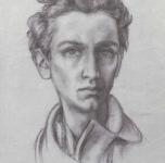 1939  Autoritratto  matita su carta
