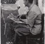 1942 A Borgo Verezzi durante il servizio militare