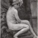 1944 Nudo Galleria d'Arte Moderna di firenze, cm 30x20