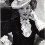 1945 Ritratto di Jolanda Pelagatti