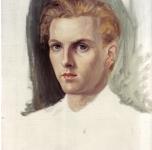 1946 Ritratto di Tim olio su tela 40x30