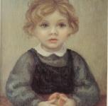1960 Bambino con frutto