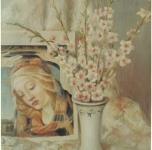1960 Natura morta  olio su tela cm 73x60