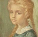 1965  Anna  olio su tela cm 35x27