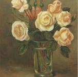 1979  Rose  olio  su tela cn 41x33