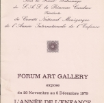 1979, Montecarlo, Forum Art Gallery