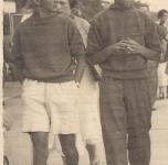 anni 30 a Viareggio con il fratello Antonio